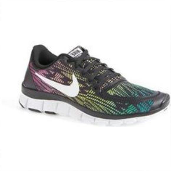 Nike Free 5.0 Rainbow Print